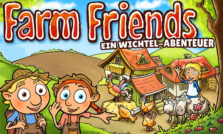 Titelillustration von Farm Friends