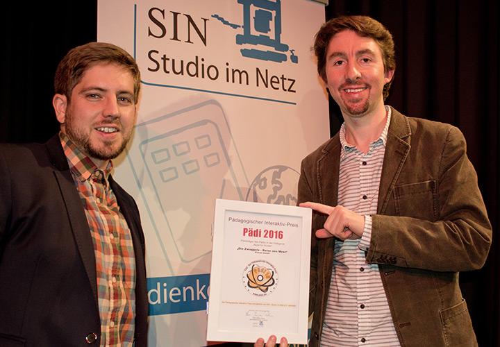 Pädi Preis Preisträger - Johannes Krämer und Stefan Leuchtenberg